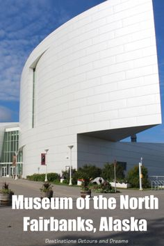 The University of Alaska Museum of the North in Fairbanks is a good introduction to Alaska's diverse wildlife, people and land Cruise Travel, Travel Usa, Travel Couple, Family Travel, Cruise First Time, Alaska Destinations, Alaska Adventures, Cruise Pictures, Alaska Travel