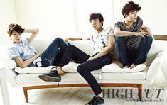 EXO-K for High Cut Magazine ♡