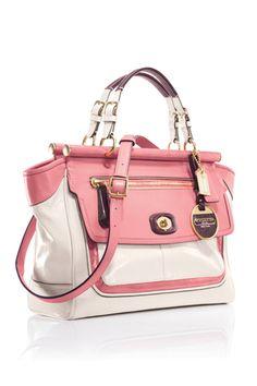 coach handbags   spring 2012 coach category coach bags totes fuchsia related links
