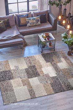 Patchwork Rugs, Patchwork Patterns, Wool Rugs, Wool Area Rugs, Rug Inspiration, Shades Of Beige, Neutral Colors, Morocco, Hand Weaving