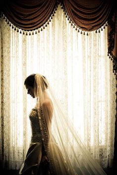 Gorgeous shot!~ pensive #bride I want a shot like this :) of me and of my soul mate (individually) :)