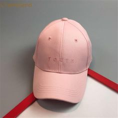 CHAMSGEND Pink Letter Pattern Men Women Cap Hats Cotton Baseball Cap Boys  Girls Snapback Hip Hop a9d457d6c3b7