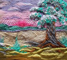 Wish Tree -- Needle Felted Art