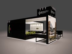 Stand El Consorci de Barcelona by QUAM Brand Environment Design , via Behance