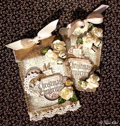 Burlap Tags * Graphic 45 * - Scrapbook.com