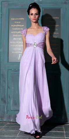 Beautiful Sweetheart Lilac Dress