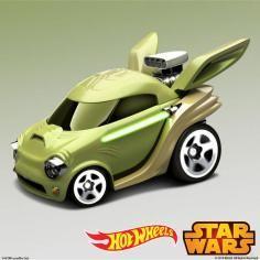Voiture Yoda Hot Wheels Star Wars