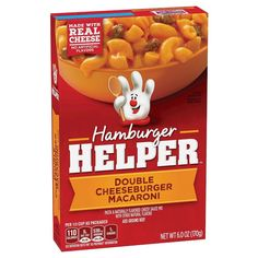 Hamburger Helper Double Cheeseburger Macaroni 6 oz