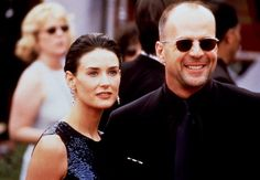 Demi Moore ; Bruce Willis......If you like authentic Ray ban and Oakley Sunglasses,please visit http://www.ing-gni.com