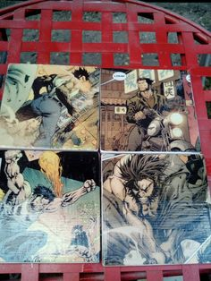 Check out this item in my Etsy shop https://www.etsy.com/listing/275375254/handmade-wolverine-comic-book-stone-tile