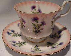 Royal Albert Bone China Tea Cup and Saucer # 4466