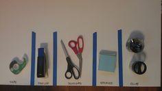 Keep supplies organized