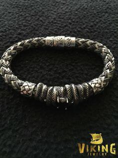Braided Viking Steel Bracelet