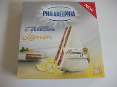 Philadelphia Almondy Gluten Free Lemon Cheesecake