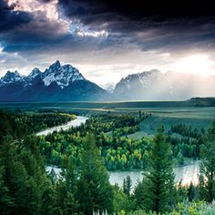 Top wow spots of Grand Teton | Snake River with the Teton Range | Sunset.com