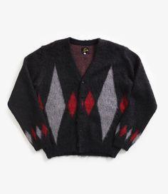 nepenthes online store | NEEDLES Mohair Cardigan - Diamond