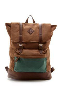 Original Penguin Canvas Rucksack Backpack