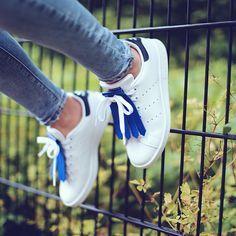• Kiltie blue • Adidas Stan Smith •