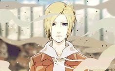 Attack on Titan Shingeki no Kyojin  - ANNIE LEONHEARDT gif