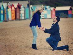 Aija & Keith's Engagement Shoot. Photography, Melbourne, Australia, wedding, photographer, beach, winter