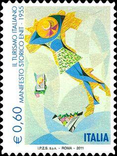 2011 - Turismo - Manifesto storico Enit - 1955