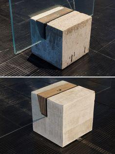 Cavalete original (acima) e sua versão renovada (abaixo). Image © Romullo Baratto