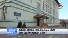 """Colegiul Național """"Horea, Cloșca și Crișan"""" Alba Iulia împlinește 95 de ani!"""