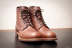 Red Wing Iron Ranger 8111 in Amber Harness