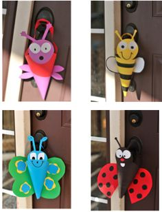 Super easy craft for the kids. So cute too. Happy May Day.
