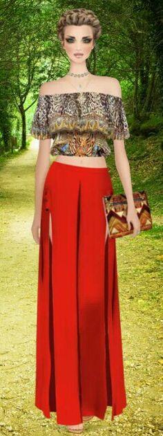 "Covet Fashion Game ""Boho Tribe"" Challenge Styled by Reebs ❤ DiamondB! Pinned ❤"