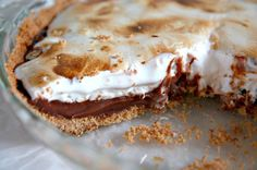 S'more Pie - yes I would like s'more.