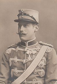 Harald, Prince of Denmark.    Born: 1876 Son of: Frederick VIII & Louise of Sweden.     Married: Helena of Schleswig-Holstein-Sonderburg-Glucksburg.     Children: Alexandrine, Caroline Mathilde, Feodora.     Died: 1941.