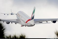 A380s on takeoff