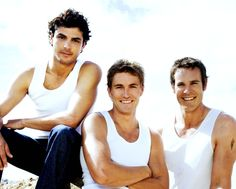 McLeod's Daughters men. Matt, Dave, and Alex!!!!!!