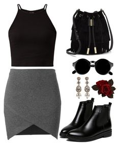 """""""."""" by gatetoheaven ❤ liked on Polyvore featuring Vince Camuto, Retrò and H&M"""