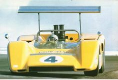 McLaren Can-Am Cars -- Bruce McLaren Trust - History of motorsport racing legend and founder of McLaren and Can-Am teams Can Am, Road Race Car, Road Racing, Race Cars, Sports Car Racing, Sport Cars, Auto Racing, Le Mans, Vintage Racing