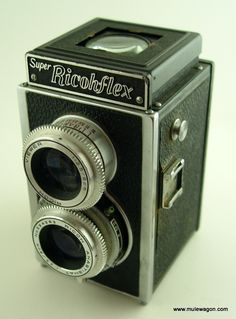 Vintage Camera - Super Ricohflex | The Mule Wagon Antiques and Collectibles $29.99