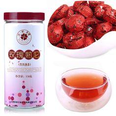 Freeshipping Wholesale Rose Tea Mini Tuo  tea ceremony small bottled Rose puer mini tea