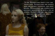 Yay Ravenclaw!