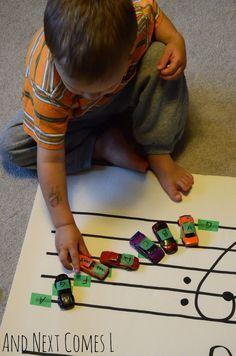Learning Music Theory with Cars // Aprendiendo teoría de la música con coches