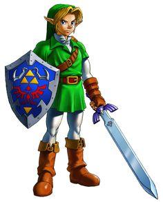 Adult Link - The Legend of Zelda: The Ocarina of Time