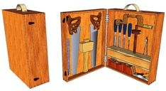 Old Style Tool Box