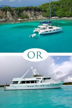 Sail boat or motor boat? Would you rather feel the wind or feel the power? #Caribbean #Sailing #yachting