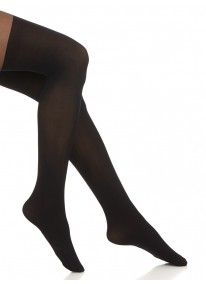 Plain over-the-knee tights Black Fresh Outfits, Black Tights, Buy Shoes, Best Brand, Fashion Online, Latest Trends, Fashion Accessories, Stockings, Man Shop