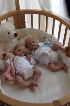 Beautiful! ~ I need a big bassinet, cradle, etc. to put my dolls in.
