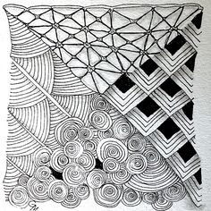 Easy Zentangle | ... the Basics – A follow-up to Introduction to Zentangle® Workshop
