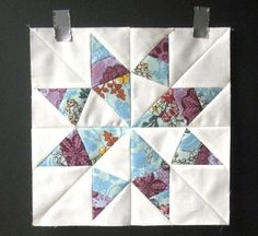 Sunshine Texas Star Block Pattern | We're completely starstruck with this pretty star block pattern!