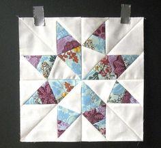 Sunshine Texas Star Block Pattern | FaveQuilts.com