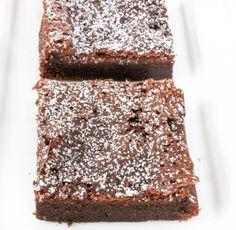Ljuvligt goda brownisar med bara 2-ingredienser! Ägg och nutella