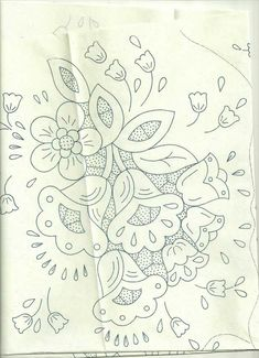 Folk Embroidery Patterns This post was discovered by Sa Hand Embroidery Design Patterns, Cutwork Embroidery, Lace Patterns, Cross Stitch Embroidery, Needlepoint Stitches, Needlework, Sewing Art, Blue Flowers, Stencils